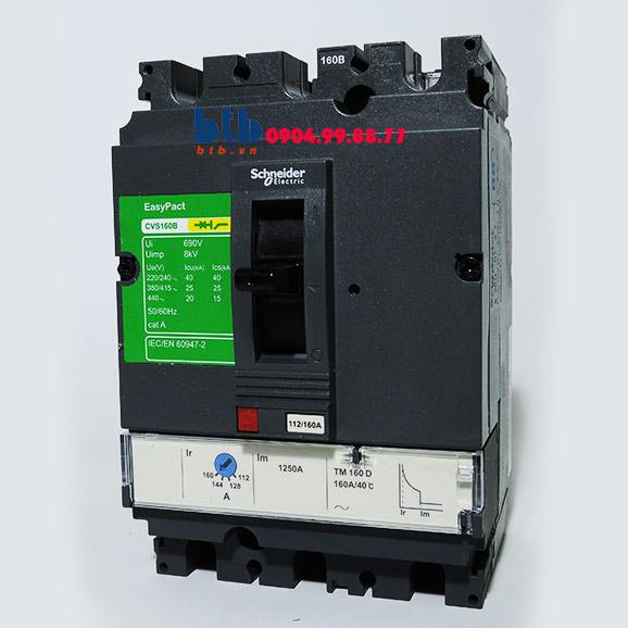 Schneider – EasyPact CVS160B, 3P Type B, Icu=25kA/415V 160A