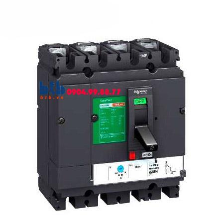 Schneider – EasyPact CVS160B, 4P Type B, Icu=25kA/415V 160A