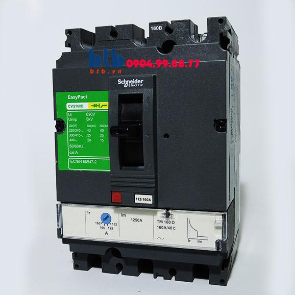 Schneider – EasyPact CVS160F, 3P Type F, Icu=36kA/415V 125A