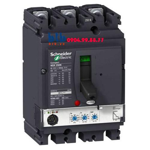 Schneider – EasyPact CVS160F, 3P Type F, Icu=36kA/415V 160A