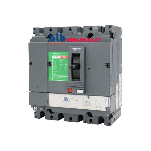 Schneider – EasyPact CVS250F, 4P Type F, Icu=36kA/415V 250A