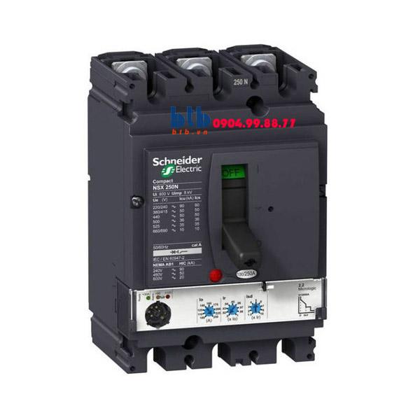 Schneider – EasyPact CVS250F, 3P Type F, Icu=36kA/415V 320A