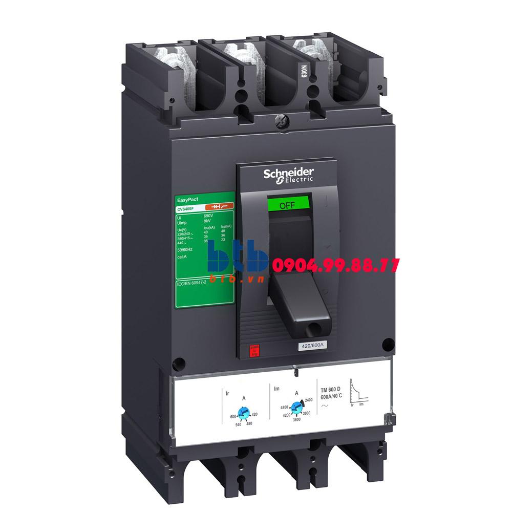 Schneider – EasyPact CVS400N, 3P Type N, Icu=50kA/415V 320A