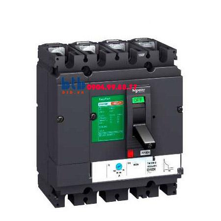 Schneider – EasyPact CVS250F, 4P Type F, Icu=36kA/415V 600A