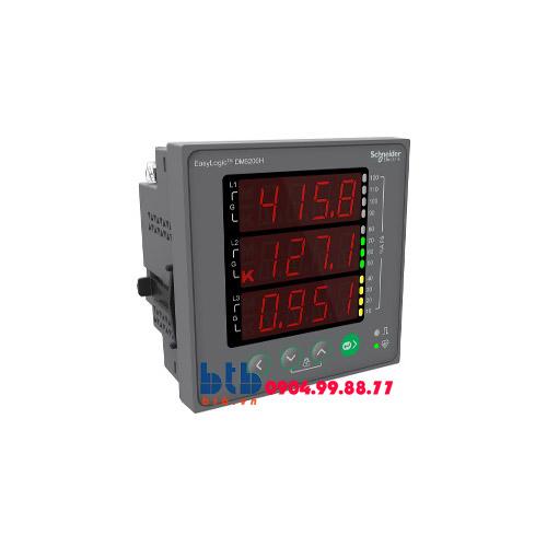 Schneider – Đồng hồ đo VAF PF% Unbalance Modbus RS485
