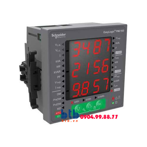 Schneider – Đồng hồ kỹ thuật số PM200 0.5% Modbus