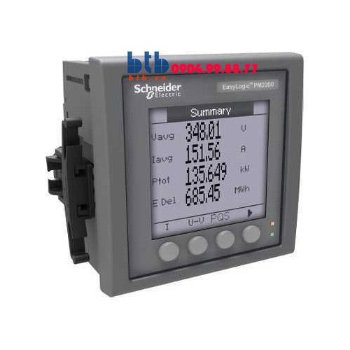 Schneider – Đồng hồ kỹ thuật số PM200 1% Modbus 2