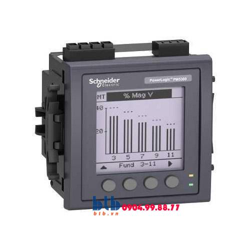 Schneider – Đồng hồ nhiều biểu giá PM5000 Modbus TCP/IP 0.5%