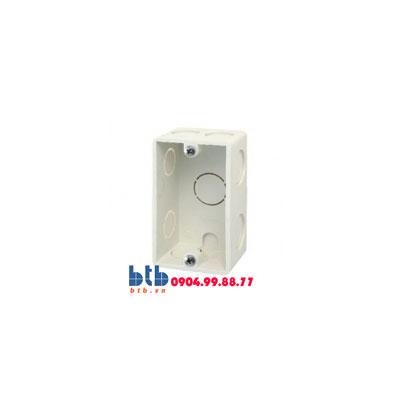 Panasonic Hộp âm nhựa trắng, đơn NA101