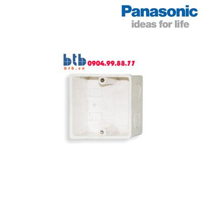 Panasonic Đế âm đơn dùng cho mặt vuông NPCA105