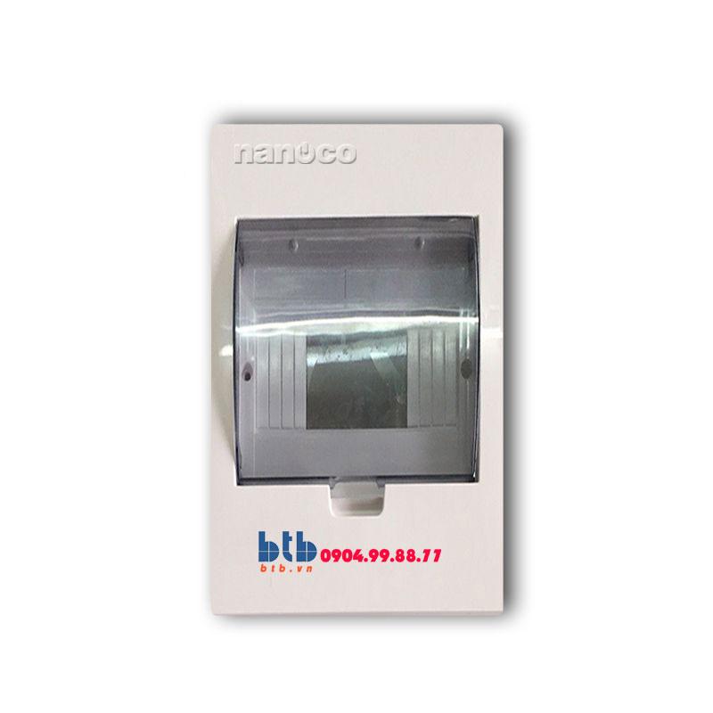 Panasonic Tủ điện vỏ nhựa chứa 4 module NDP104