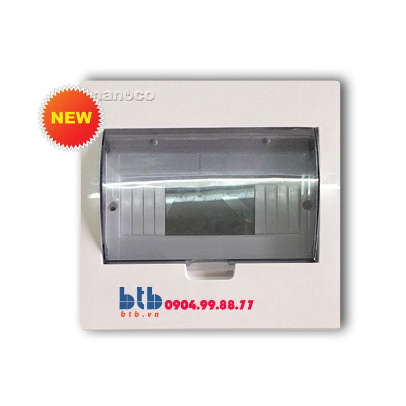 Panasonic Tủ điện vỏ kim loại chứa 6-8 module NDP106