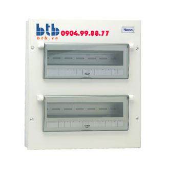 Panasonic Tủ điện vỏ kim loại chứa 24-26 module NDP124