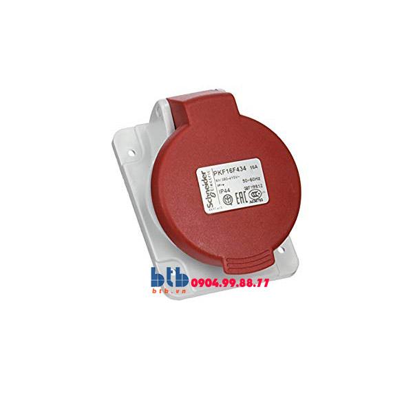 Schneider – Ổ cắm âm dạng nghiêng IP44 3P+E 400V 16A