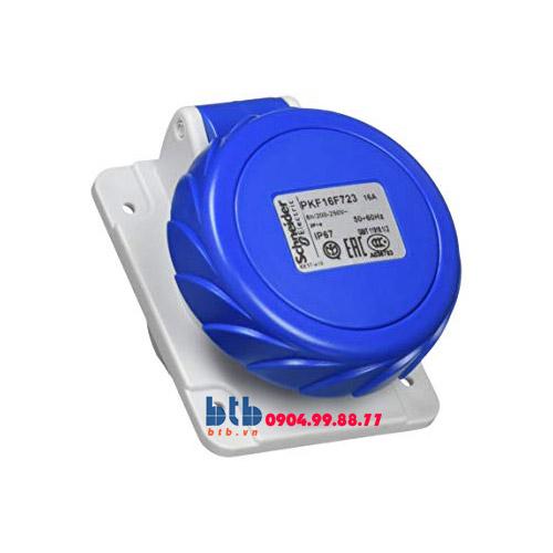 Schneider – Ổ cắm âm dạng nghiêng IP67 2P+E 230V 16A