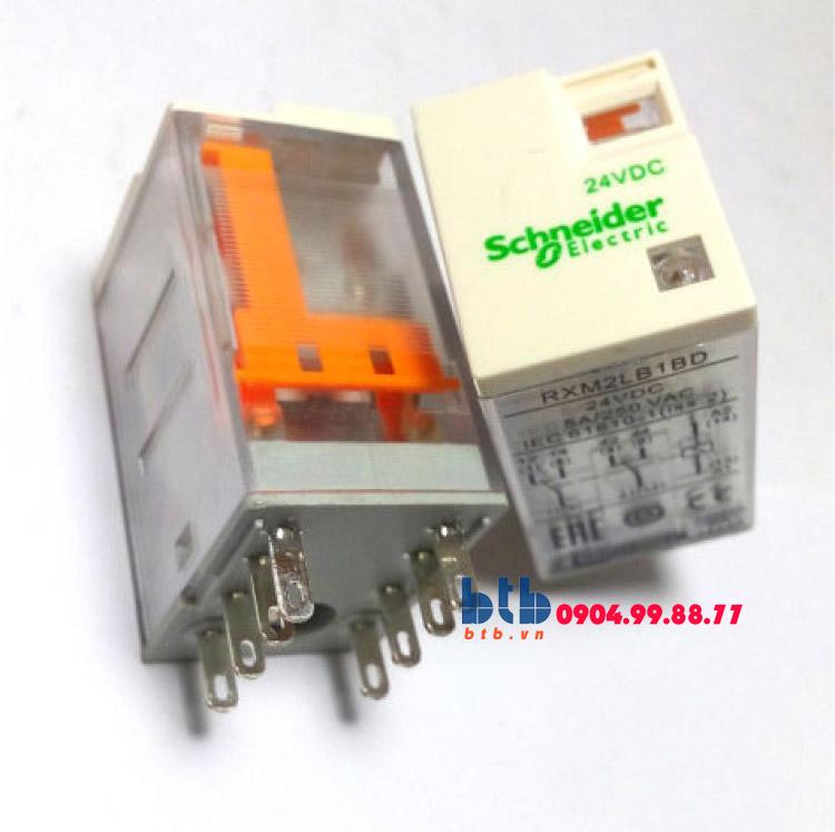 Schneider – Rơ le không đèn chỉ thị -5A 24Vdc