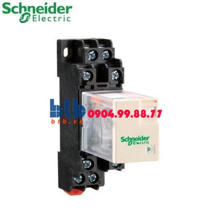 Schneider – Rơ le không đèn chỉ thị -5A 12Vdc
