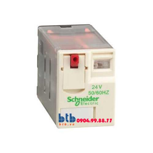 Schneider – Rơ le có đèn chỉ thị -5A 24Vac