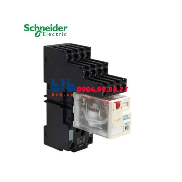 Schneider – Rơ le không đèn chỉ thị -3A 230Vac