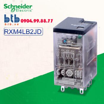 Schneider – Rơ le có đèn chỉ thị -3A 12Vdc