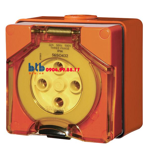 Schneider – Ổ cắm IP66 4P 500V 32A