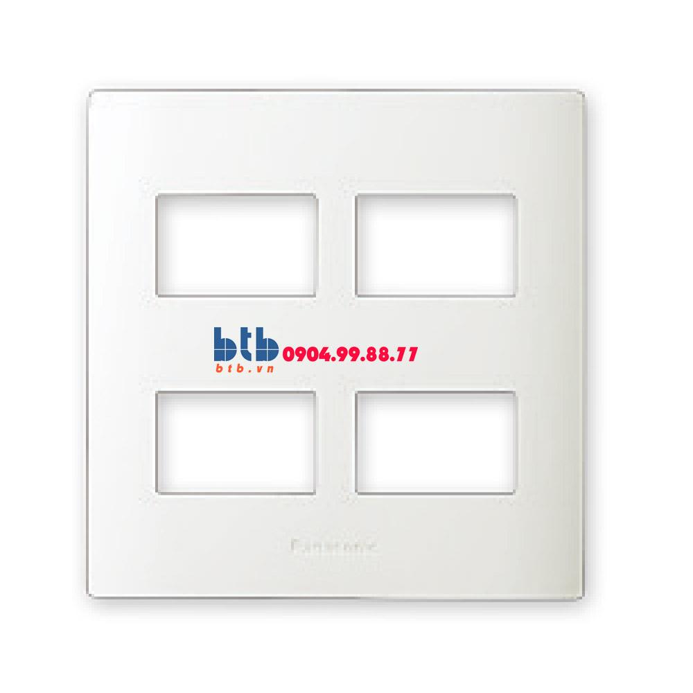 Panasonic Mặt dùng cho 4 thiết bị WEVH68040