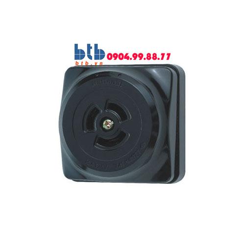 Panasonic Ổ cắm locking loại nổi, màu đen WK2330