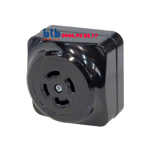 Panasonic Ổ cắm locking loại nổi, màu đen WK2430