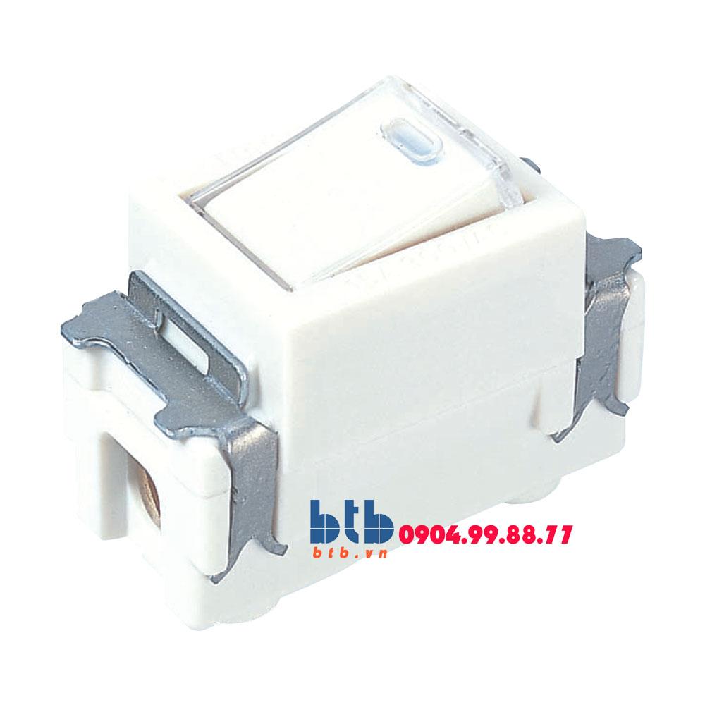Panasonic Công tắc B 1 chiều có đèn báo khi OFF WNG5051W-751