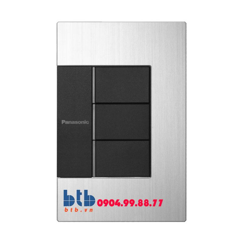 Panasonic Bộ 3 công tắc có đèn báo WTEGP53572S-1-G