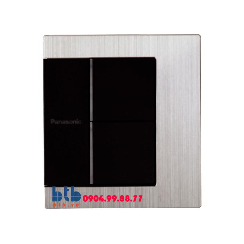 Panasonic Bộ 2 công tắc có đèn báo WTFBP52562S-1-G