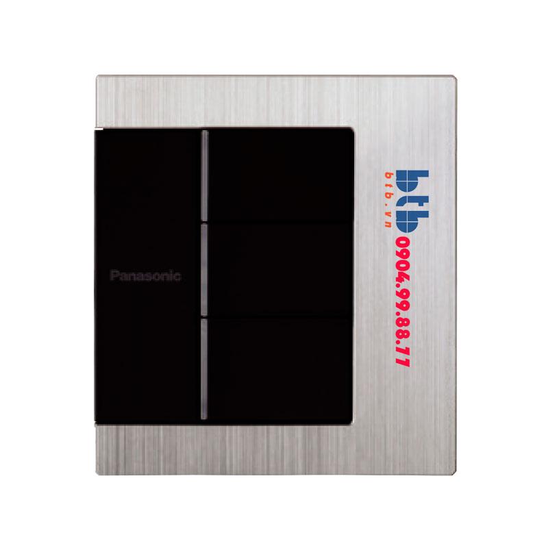 Panasonic Bộ 3 công tắc có đèn báo WTFBP53572S-1-G