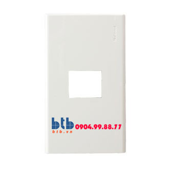 Panasonic Mặt góc vuông dùng cho 1 thiết bị WZV7841W