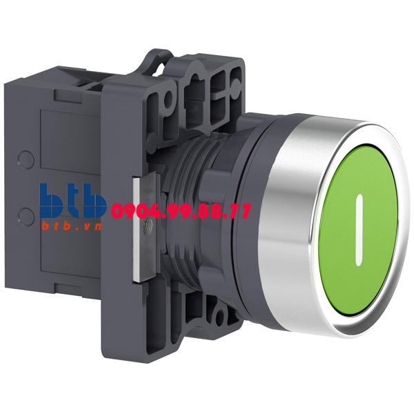 Schneider – Nút nhấn nhả ø22 N/O màu xanh