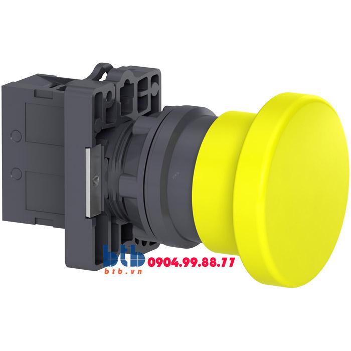 Schneider – Nút nhấn nhả đầu nấm ø22 màu vàng