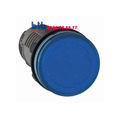 Schneider – Đèn báo ø22 24V AC/DC màu xanh dương