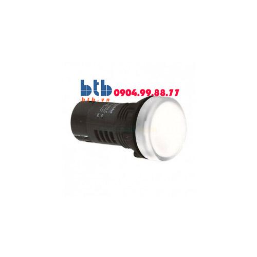 Schneider – Đèn báo ø22 110V AC màu trắng