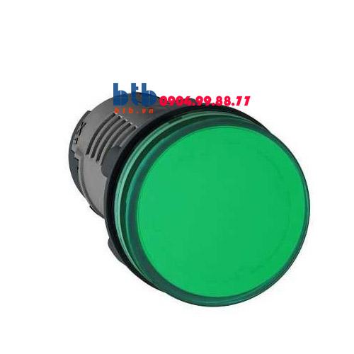Schneider – Đèn báo ø22 110V AC màu xanh lá
