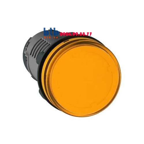 Schneider – Đèn báo ø22 110V AC màu cam