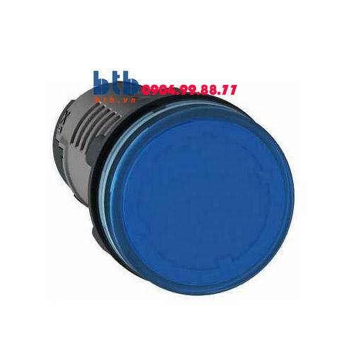 Schneider – Đèn báo ø22 110V AC màu xanh dương