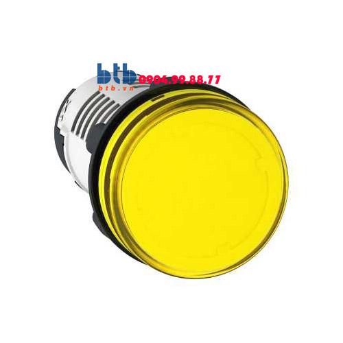 Schneider – Đèn báo ø22 110V AC màu vàng