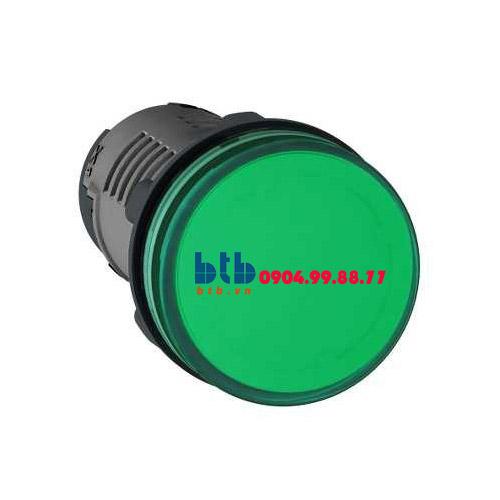 Schneider – Đèn báo ø22 110V DC màu xanh lá