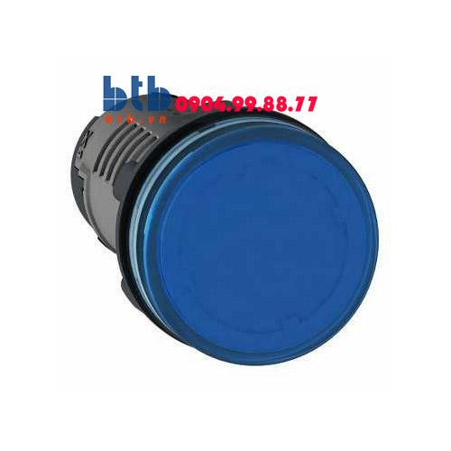 Schneider – Đèn báo ø22 110V DC màu xanh dương