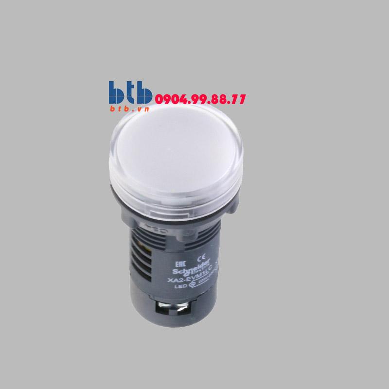 Schneider – Đèn báo ø22 220V AC màu trắng