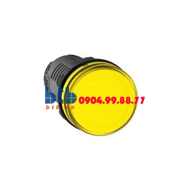 Schneider – Đèn báo ø22 220V AC màu vàng