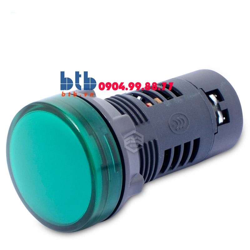 Schneider – Đèn báo ø22 220V DC màu xanh lá