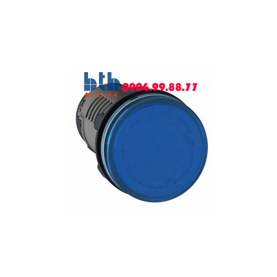 Schneider – Đèn báo ø22 220V DC màu xanh dương