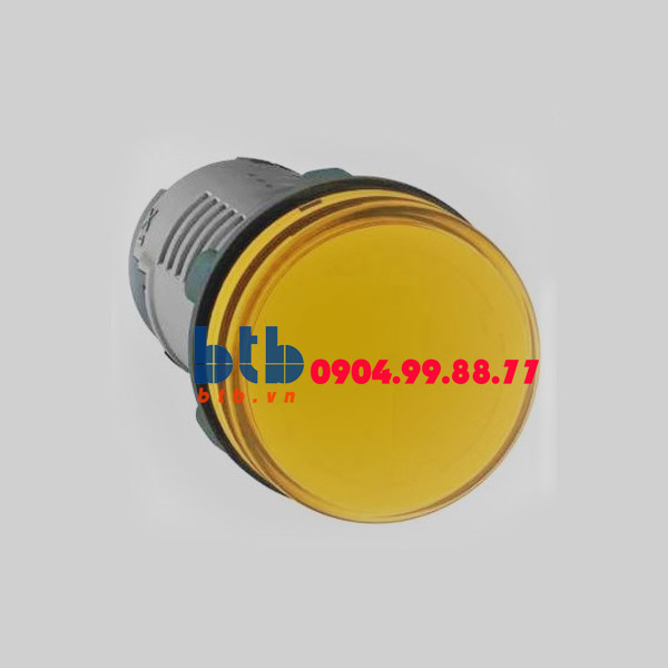 Schneider – Đèn báo ø22 220V DC màu vàng