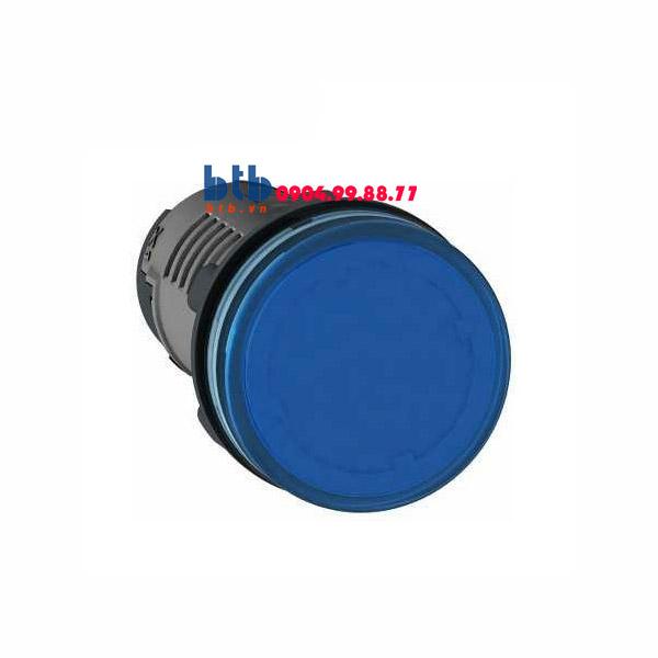 Schneider – Đèn báo ø22 380V-400V AC màu xanh dương