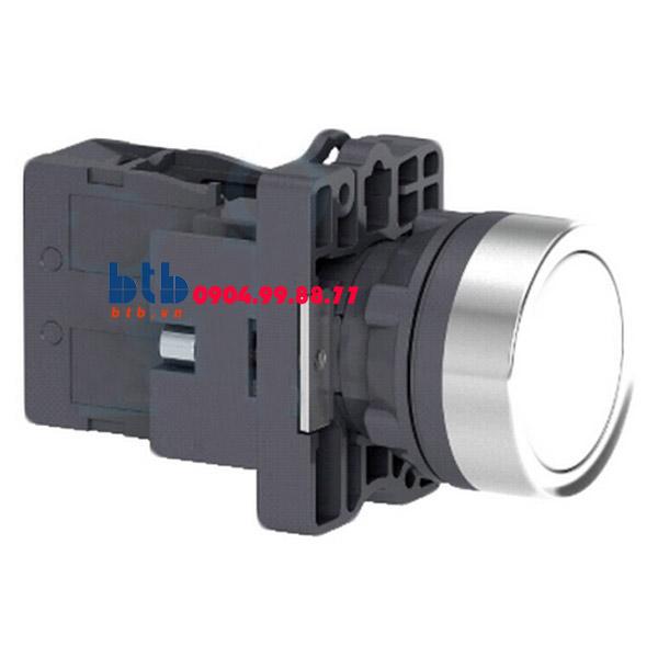 Schneider – Nút nhấn có đèn báo ø22 220V AC màu trắng